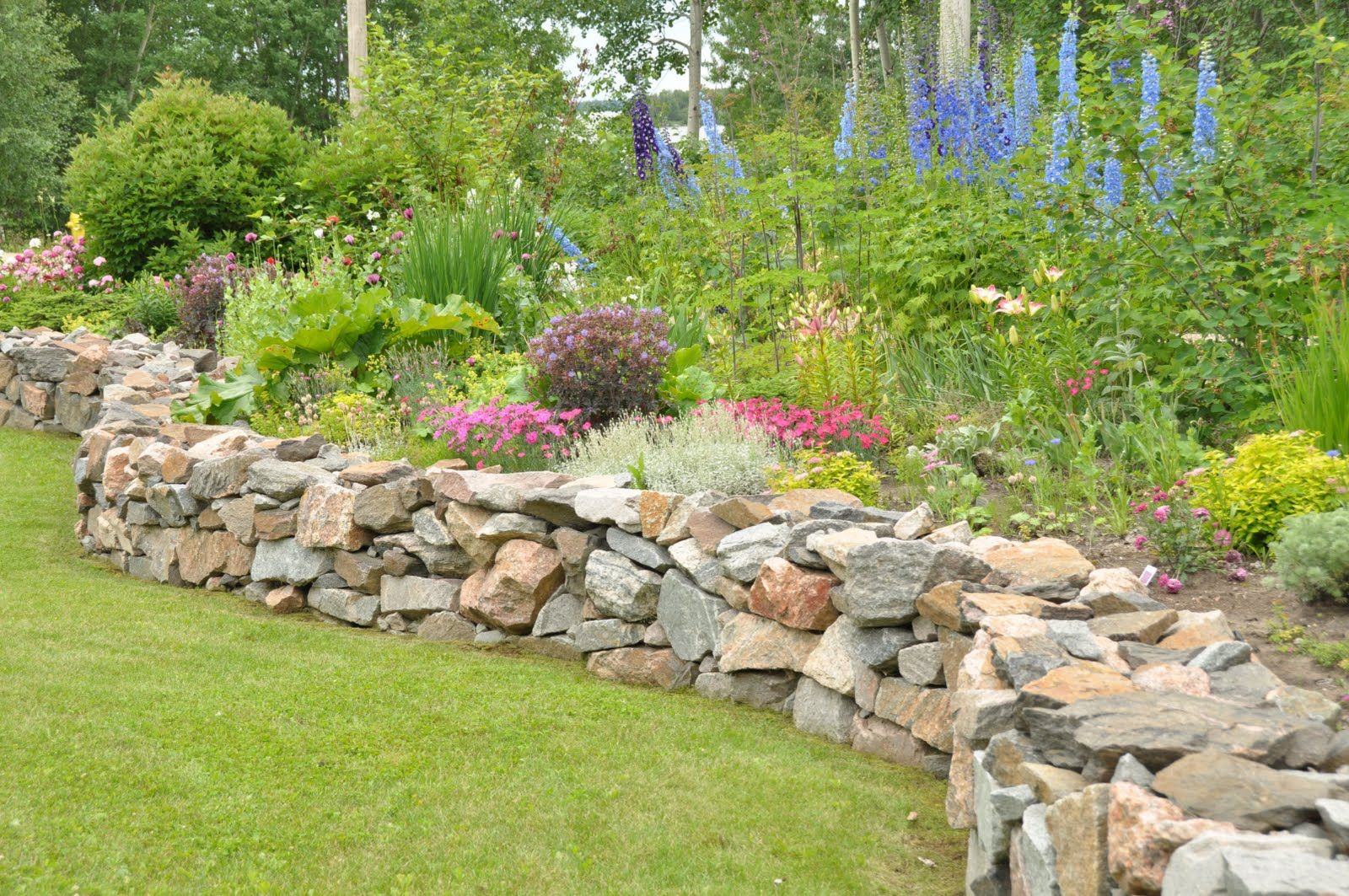 Perennials Rock Garden | At this time of year, there is little soil on rock raised garden beds designs, plants rock garden designs, xeriscape rock garden designs,