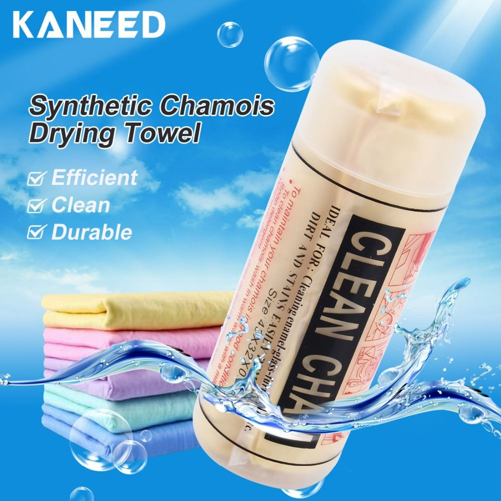 KANEED Synthetic Chamois Drying Towel Super Absorbent PVA