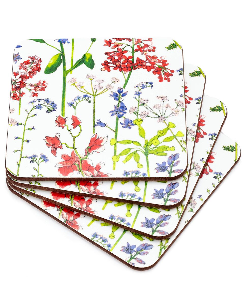 Flowers of Liberty Theodora Liberty Print Coasters | Kitchen and Dining | Liberty.co.uk