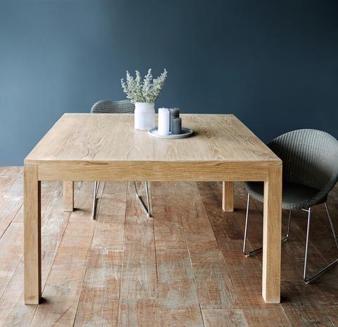 Bonifacio Teak Dining Table Square Teak Dining Table Wood Dining Table Dining Table