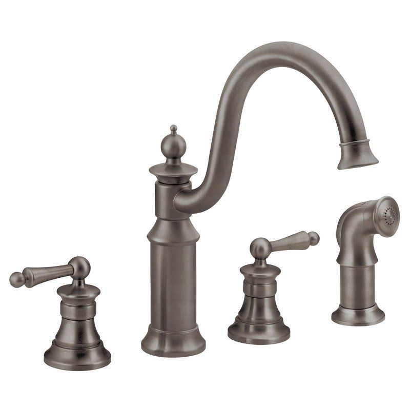 Moen S712 High-Arc Kitchen Faucet with Side Spray from the Waterhill ...