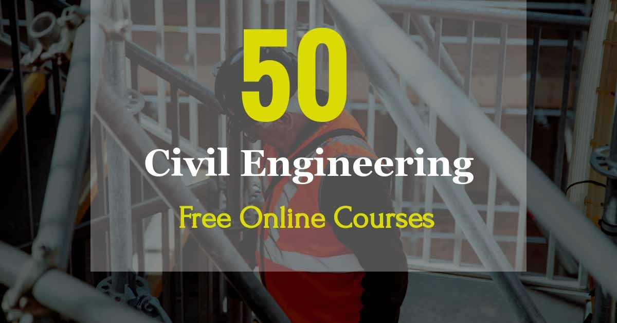 Civil engineering online courses with video lectures