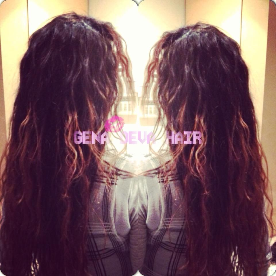 Hair Extensions By Kim Lloyd On This Picture You See 100 Indian