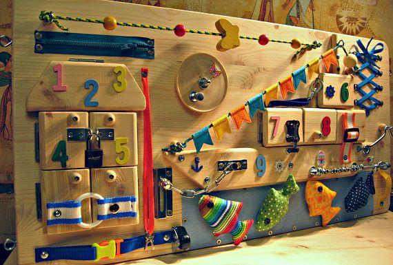 besch ftigt board meer aktivit tsspielzeug sensorische. Black Bedroom Furniture Sets. Home Design Ideas