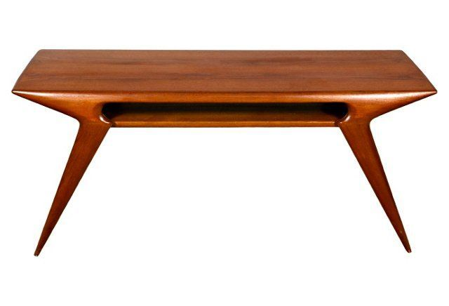 1950s johannes andersen coffee table | 1950s, coffee tables and