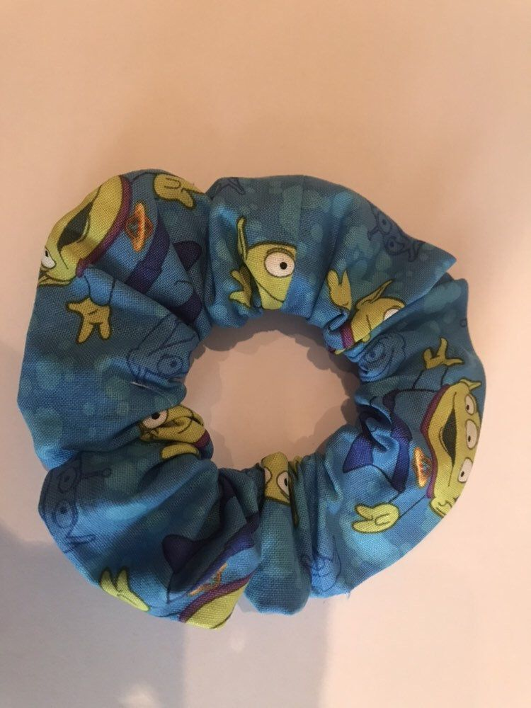 Disney Handmade Hair Scrunchie by Candystormer #hairscrunchie