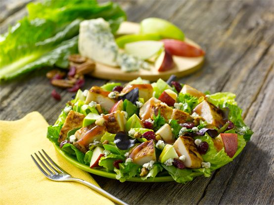 Wendy's Apple Pecan Chicken Salad A perfect mix of peak