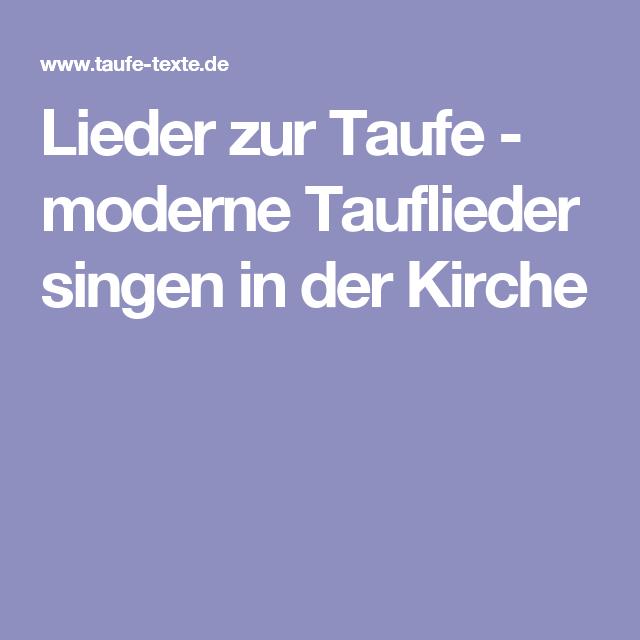 Lieder Zur Taufe Moderne Tauflieder Singen In Der Kirche