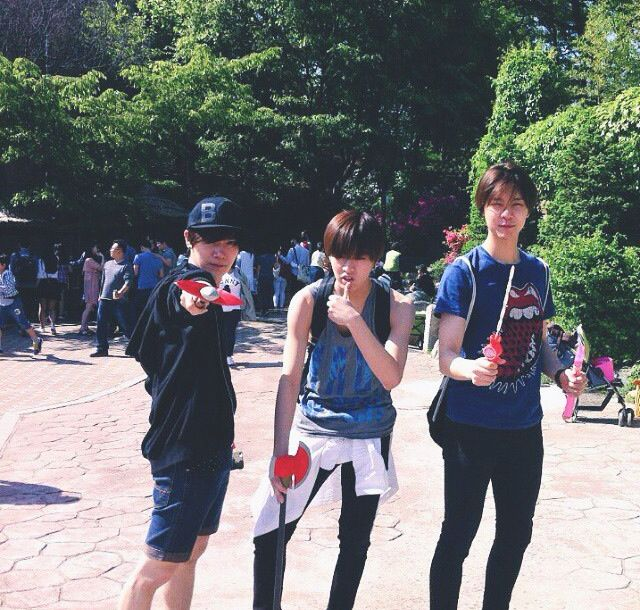 Ten, Yuta And Johnny #SMROOKIES