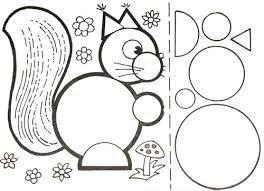 Картинки по запросу картинки животных из геометрических ...