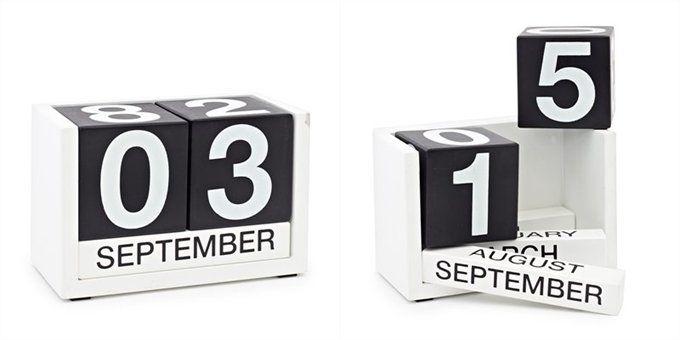 ThreeSixFive Calendar - Black Desks, Nest and Modern