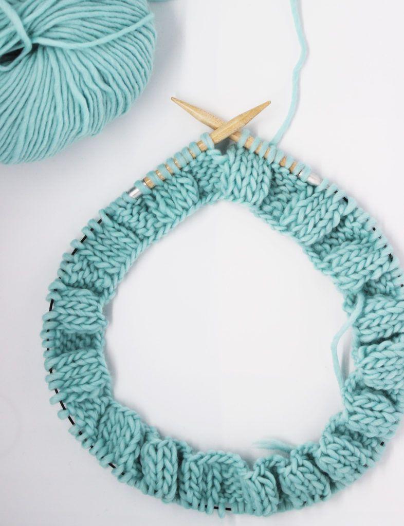 Cómo tejer en circular | ganchillo y punto | Punti maglia, Uncinetto ...