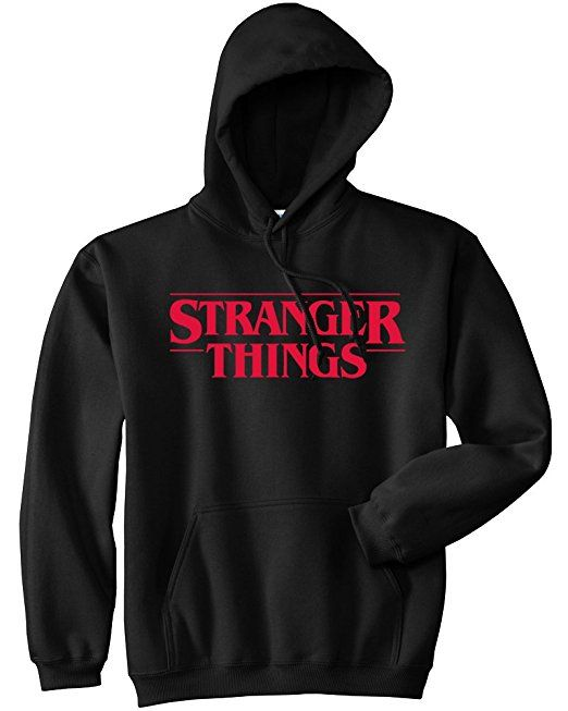 73c6d6a40236 Amazon.com  Mars NY Unisex Stranger Things Hoodie - Stranger Things Hoodie  (Black