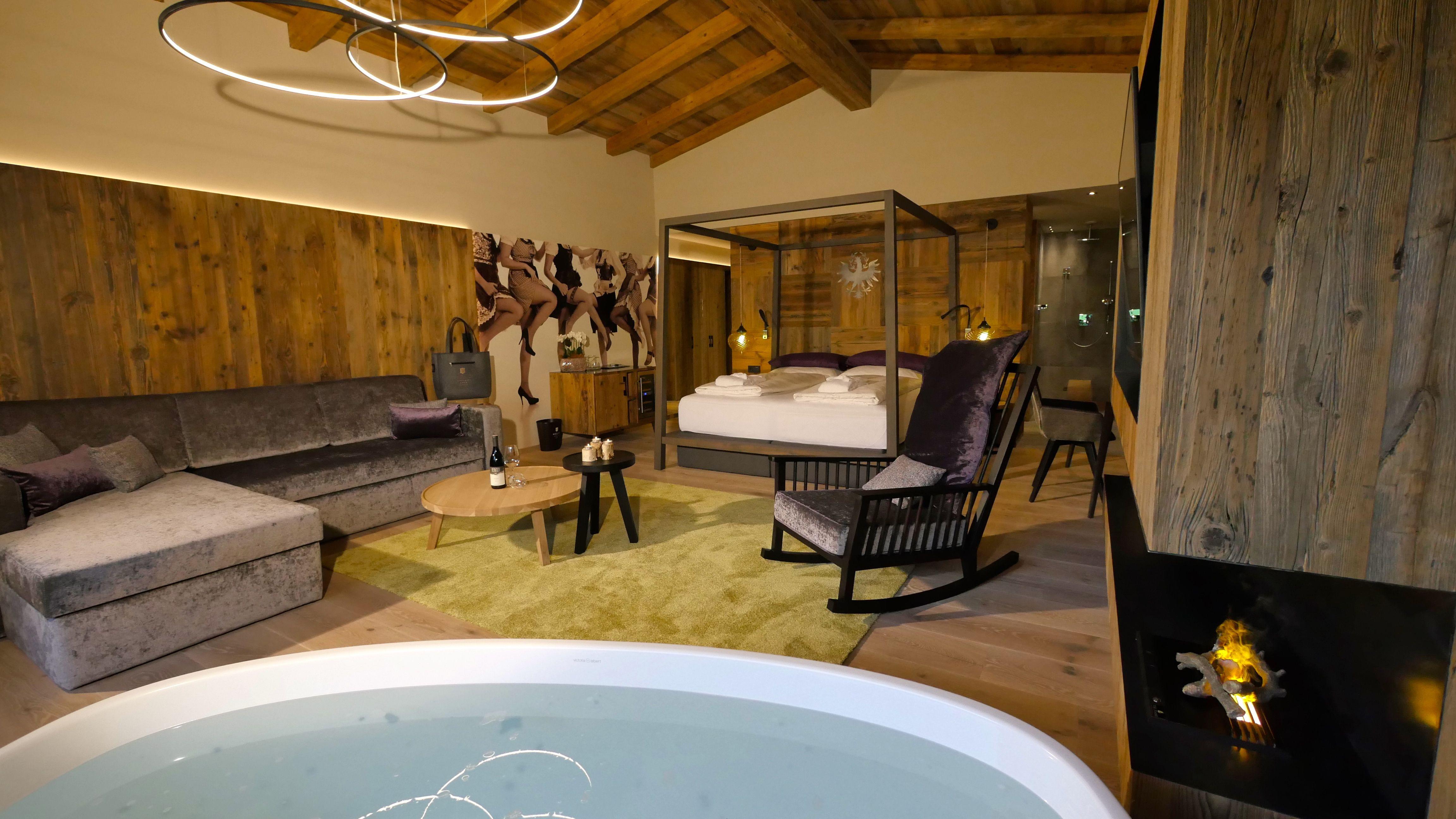 Unsere Tirol Suite Hotel Zillertal Wellnesshotel
