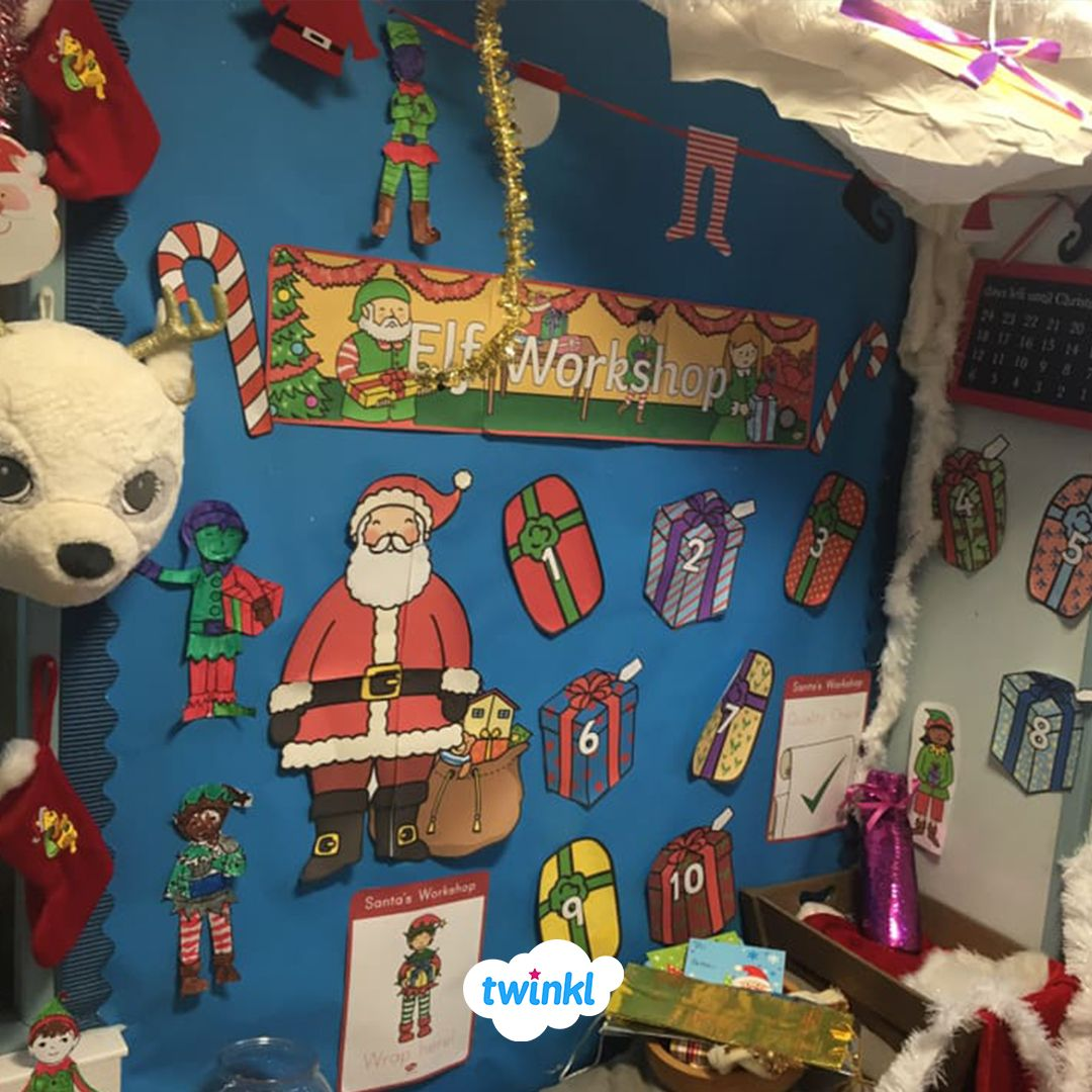 Christmas Inspired Classroom Display! Download Twinkl's