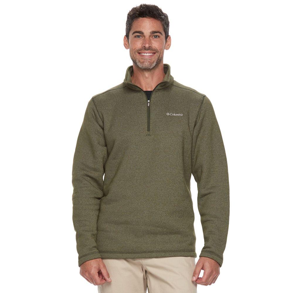 Big u tall columbia ortega oaks quarterzip fleece jacket menus
