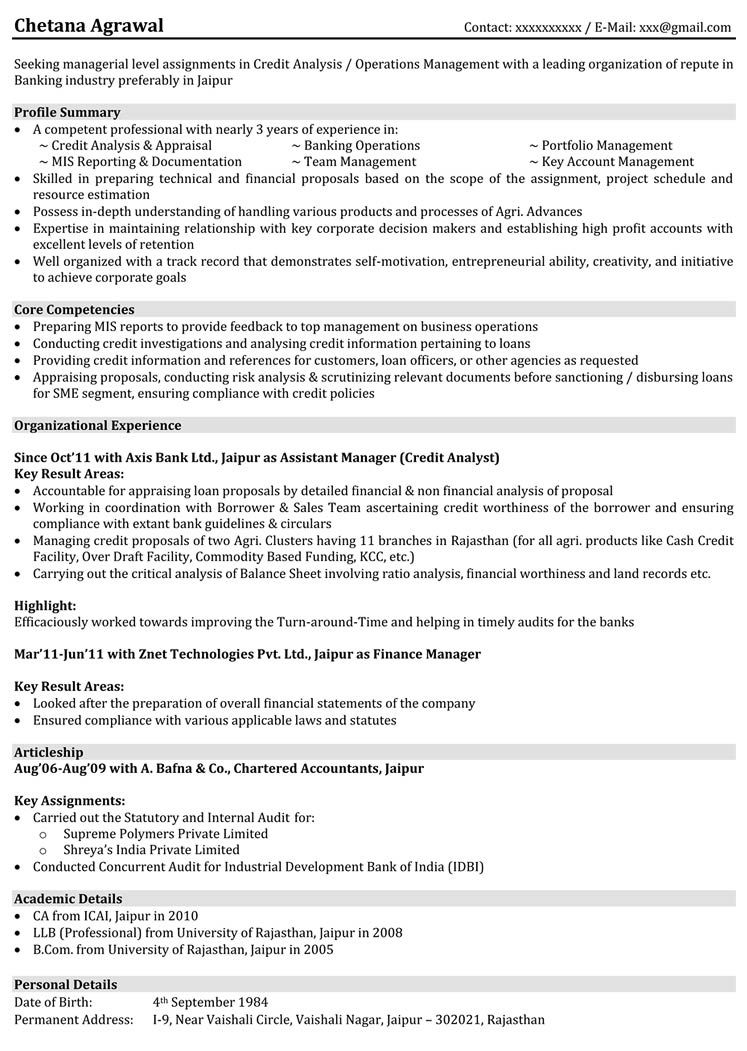 Banking and Finance Resume Samples Resume, Cv cover