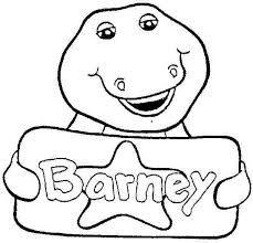 barney and friends colouring pictures google search
