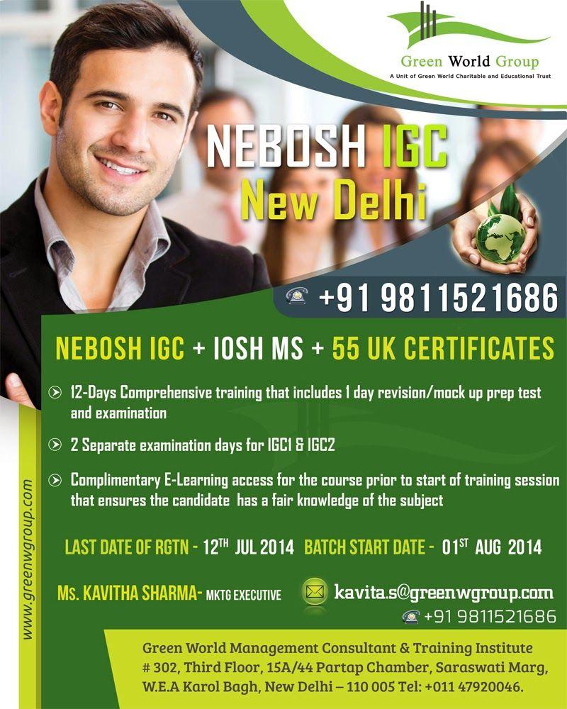 Pin By Green Delhi On Nebosh Course In Delhi Pinterest New Delhi