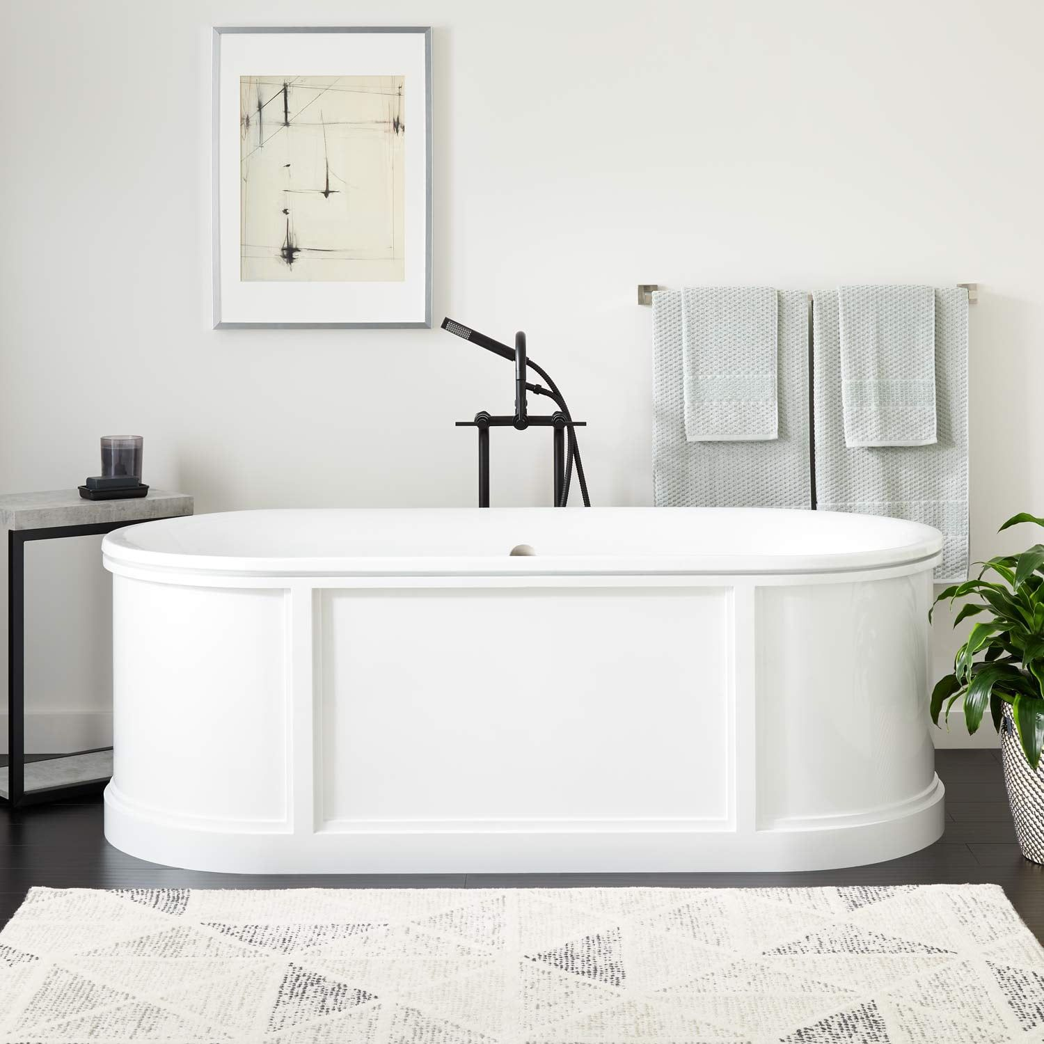 70 Louis Cast Iron Skirted Tub White In 2019 Tub Cast Iron