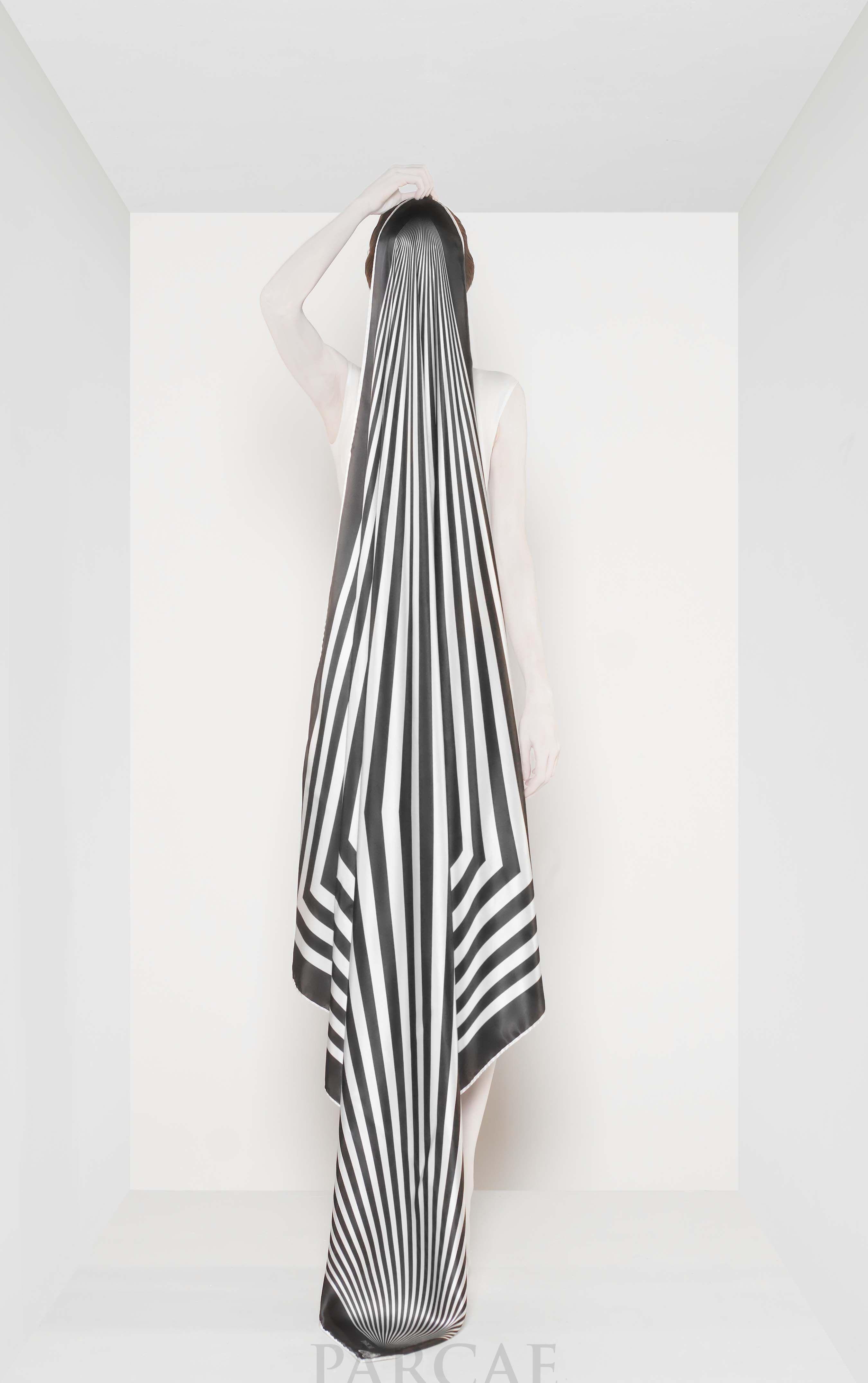 Visit www.parcae.it #fashion #art #chiffon #trend #madeinitaly #foulard #islamic #islamicsize #woman #chic #silk #satin #tradition #foulardaddicted #foulards #style #moda #modaitaliana #fashionweek #elegance #wishlist #carré #islamicsizes #luxury #fw2014 #black #white #shopping #georgette #beautiful
