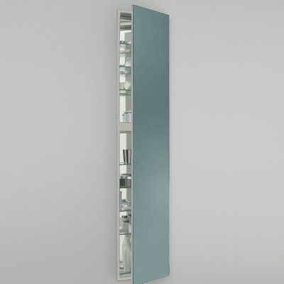 Robern M Series Recessed Or Surface Mount Frameless Medicine