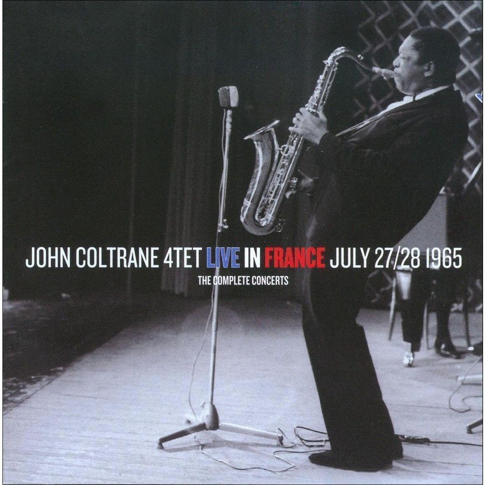 John Coltrane Quartet - The Complete Concerts: Live in France July 27 & 28, 1965 (CD)