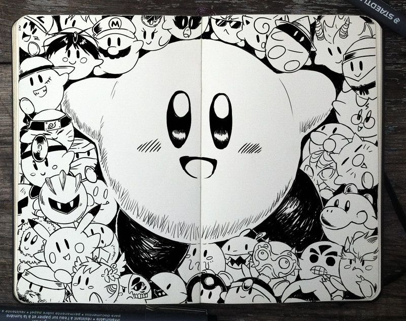 315 Kirby by 365-DaysOfDoodles | dibujos para hacer | Pinterest ...