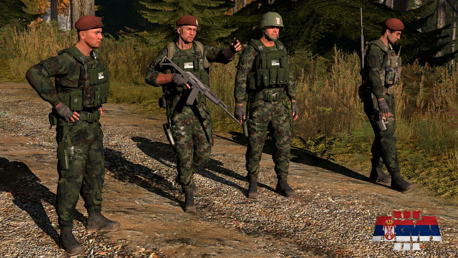 Serbian Armed Forces ArmA3] DevUpdate #7 - Reworked Texture's