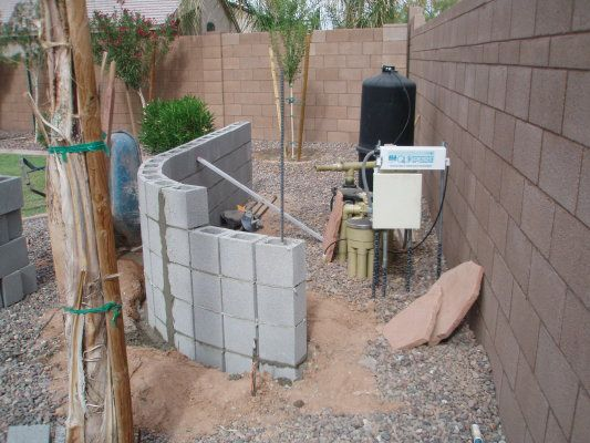 Swimming Pool Filter Enclosures In 2019: Unique Pool Equipment ...