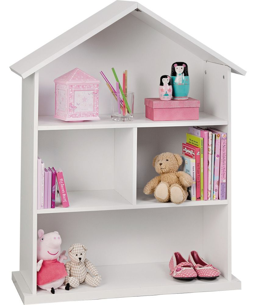 Buy Mia Dolls House Bookcase - White at Argos.co.uk - Your Online