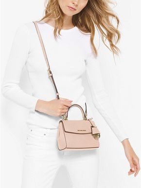 8ed5cc364c Ava Extra-Small Saffiano Leather Crossbody Michael Kors Crossbody Bag