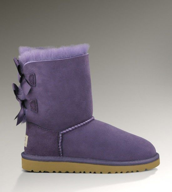 3cd5e2325f8 2013 Womens Bailey Bow UGG Boots PURPLE VELVET | Fall outfit + ...