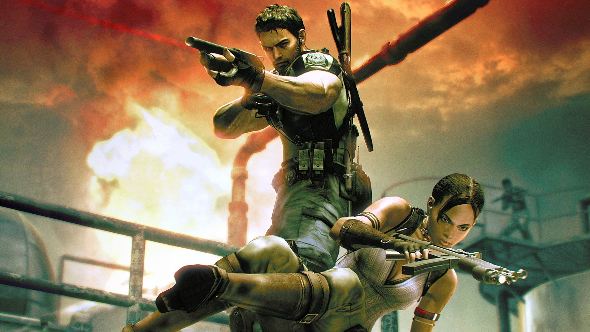 Updated Recently Activated Versions Of Resident Evil 5 Are