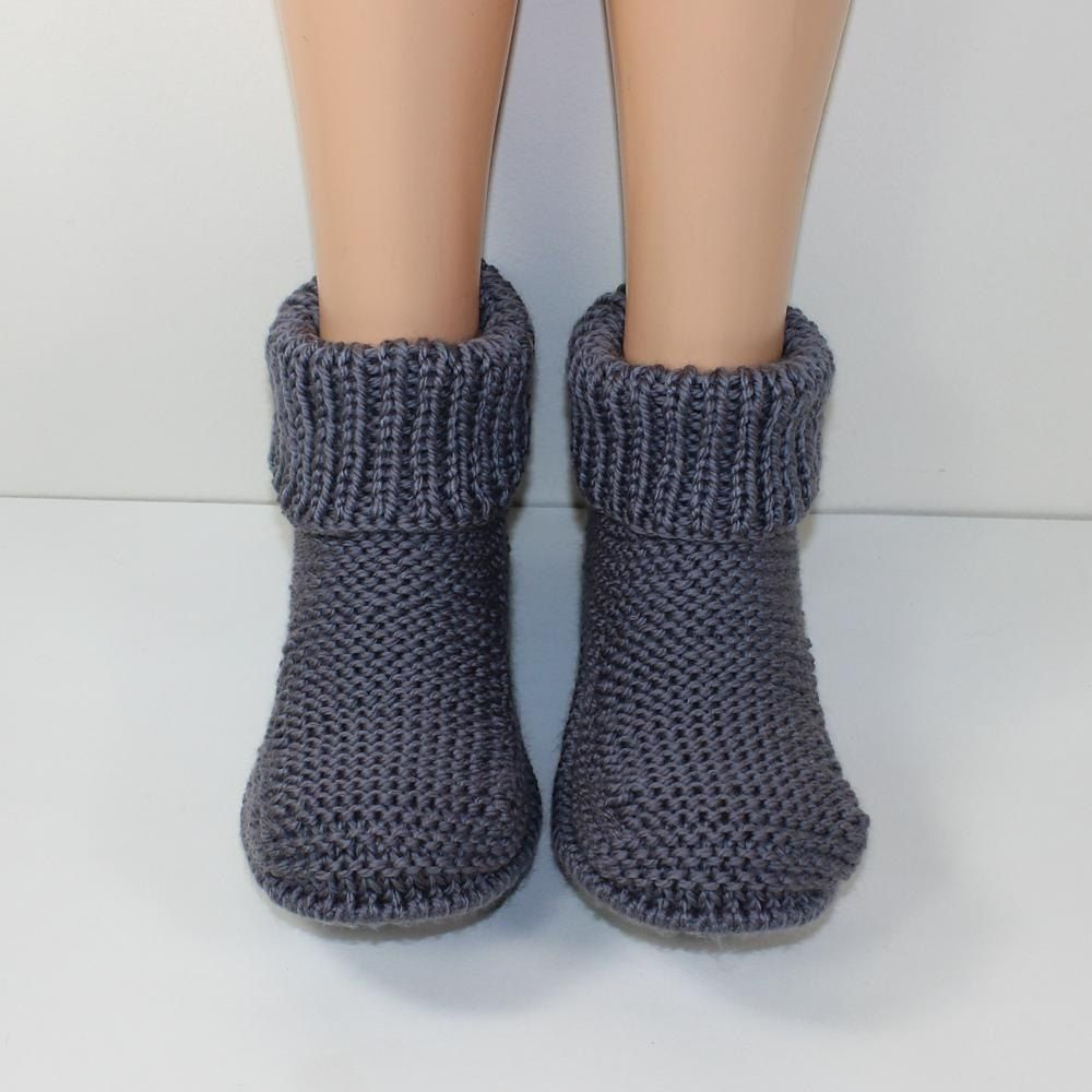 Freds boots mens slippers mens slippers knitting patterns and freds boots mens slippers mens slippersknit slipperscrochet socksknit crochetknitting patterns bankloansurffo Choice Image