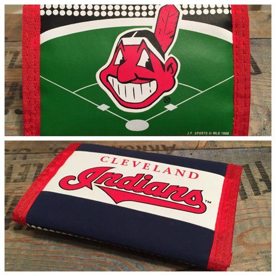 New old stock // Vintage Cleveland Indians mens by VintageCLE216