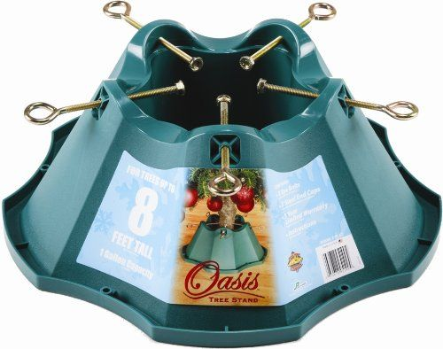 Jack-Post Oasis Christmas Tree Stand, for Trees Up to 8-Feet, 1