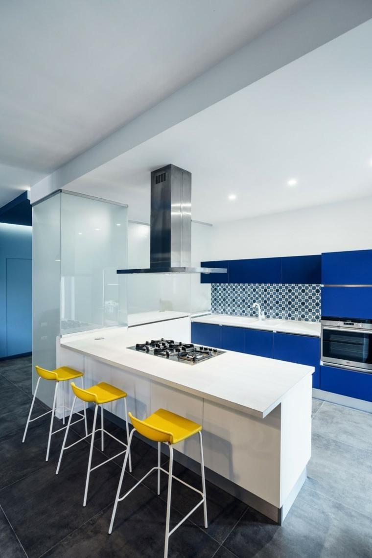 Blaue Farbe innen - Tipps zum Gebrauch und Kombinationen   Haus