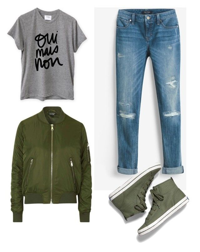 """""""Untitled #533"""" by foxessx ❤ liked on Polyvore featuring Sincerely, Jules, White House Black Market, Topshop and Keds"""