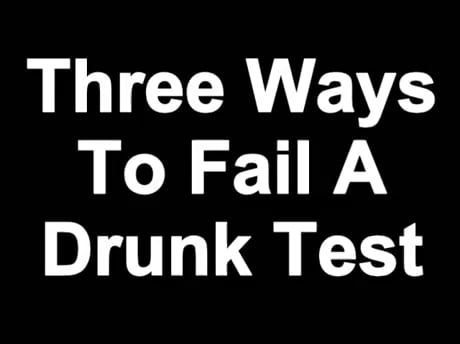 Three ways to fail a drug test