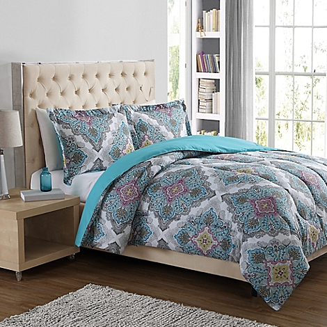 Bed Bath & Beyond: 3-Piece Comforter Sets for just $29.99 shipped ...