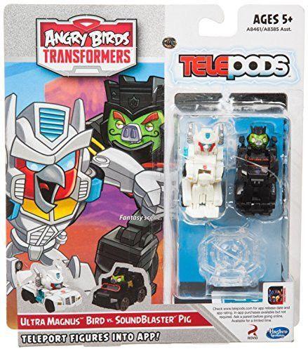 Transformers Hasbro Angry Birds Telepods Thundercracker Pig Figure Brand New