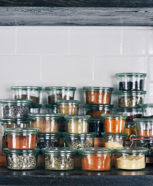 Spices Organized Neatly. #spices #kitchen #forthehome