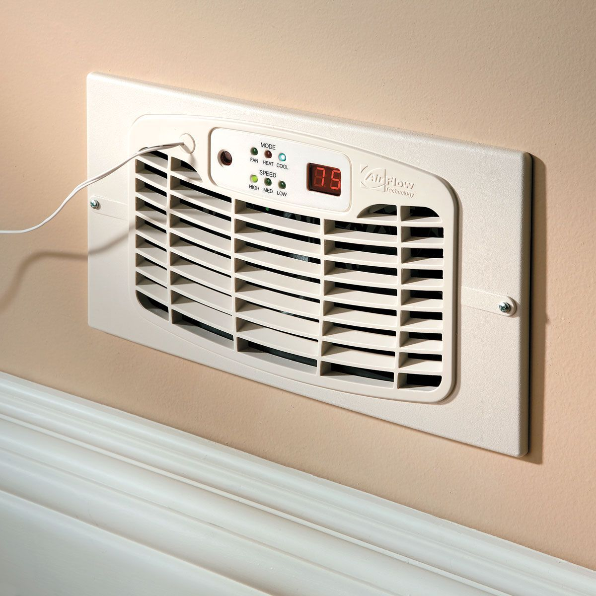 Room To Room Ventilation Fans : Airflow breeze ultra register booster fan laundry rooms