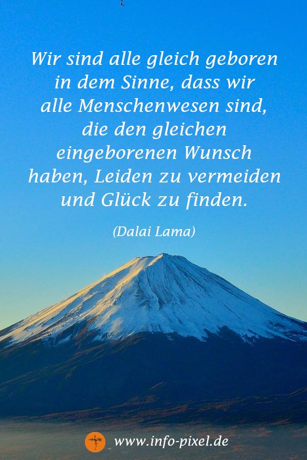 Ein Inspirierendes Zitat Des Dalai Lama Zum Thema Glück