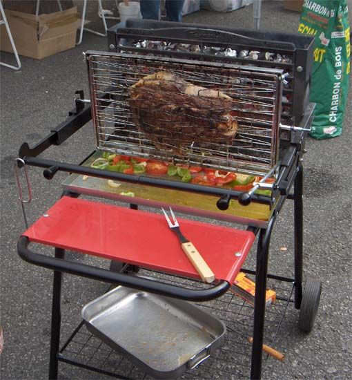 Vign cuisson 1 bbq idea pinterest barbecues - Grille pour barbecue vertical ...