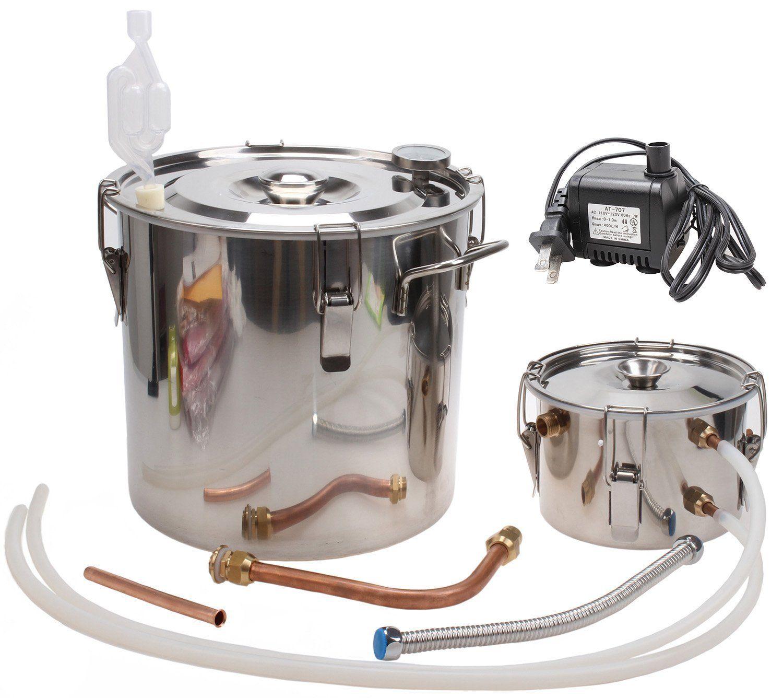 KMM 5 Gal Home Stainless Steel Distiller Water Alcohol ...