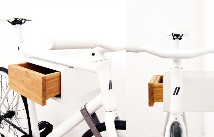Fahrradhalterung Wand Holz fahrradhalterung für wand selber bauen 30 ideen und anleitung