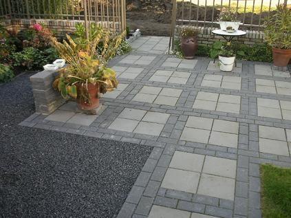 Bestrating met grote tegels google zoeken patio for Schellevis tegels aanbieding