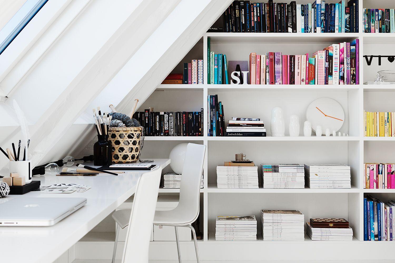 Stupendo angolo di lavoro #workspace #attic #mansarda